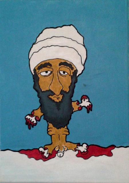 No arme bin Laden