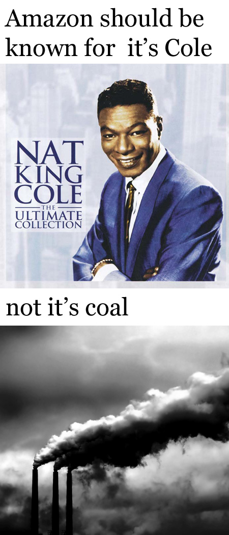 Cole not coal