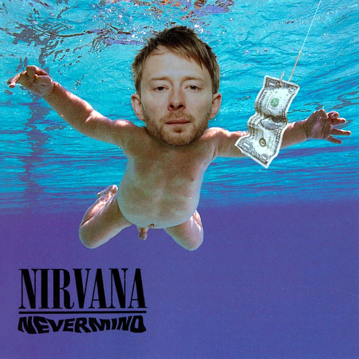 Nirvana vs Radiohead - Come as a Creep