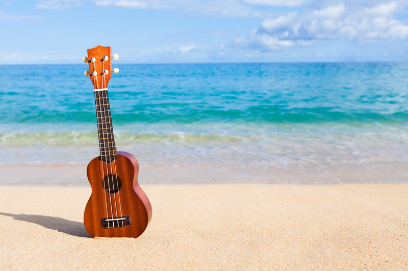 ukulele-on-the-beach